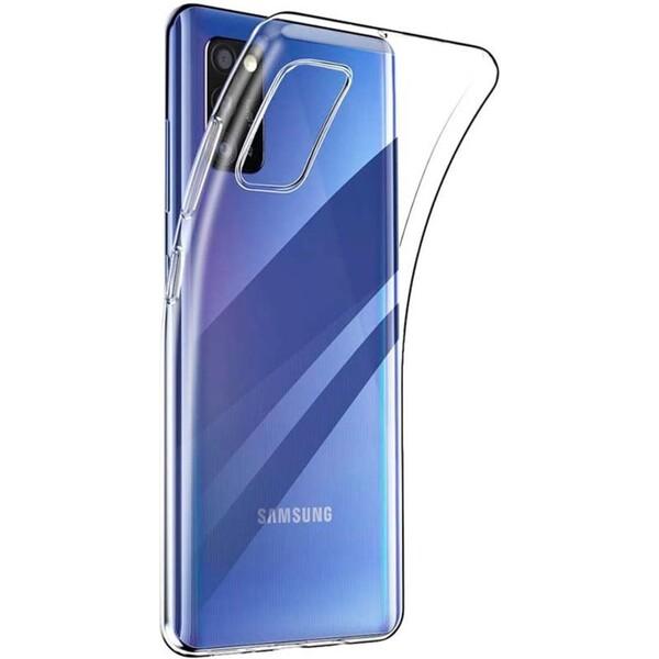 Smarty ultratenké TPU pouzdro 0,3mm Samsung Galaxy A41 čiré