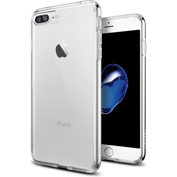 Pouzdro Spigen Ultra Hybrid iPhone 7+ čiré Čirá