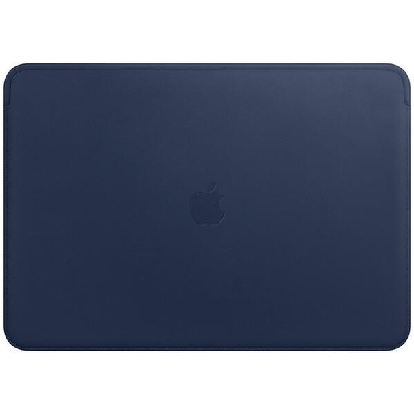 """Apple kožené pouzdro Apple MacBook Pro 15"""" půlnočně modré"""