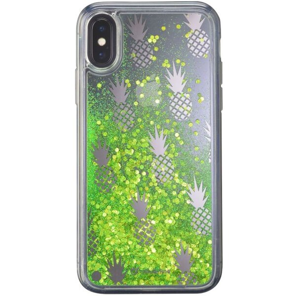 Cellularline gelové pouzdro Stardust Apple iPhone X/XS motiv Pineapple