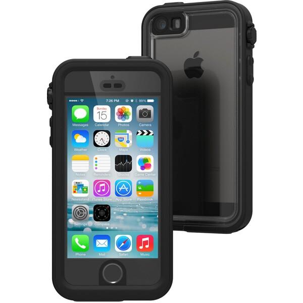 Pouzdro Catalyst Waterproof case - iPhone SE/5S/5 černé Černá