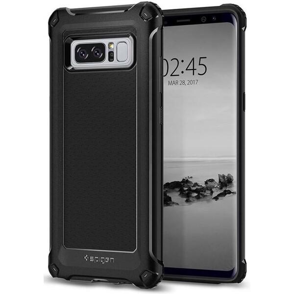 Pouzdro Spigen Rugged Armor Extra Galaxy Note 8 černé Černá