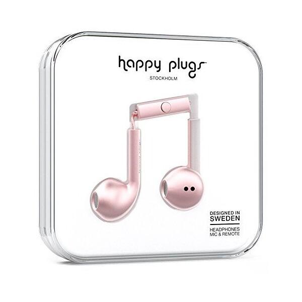 Happy Plugs Earbud Plus Růžová