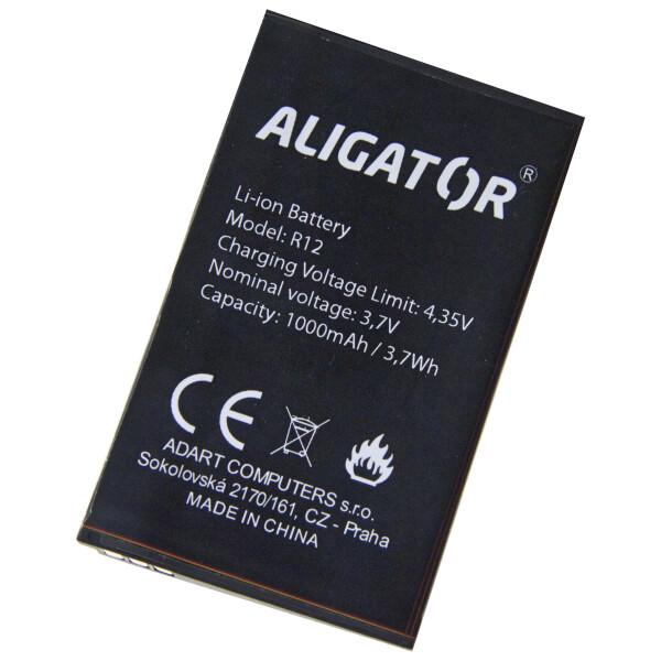 Baterie ALIGATOR AR12BAL Černá