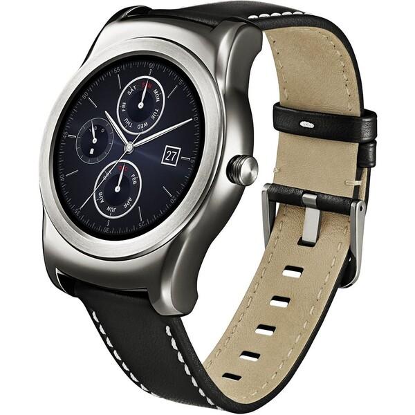LG W150 Watch Urbane Stříbrná