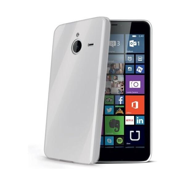 CELLY Gelskin pouzdro Microsoft Lumia 640 XL čiré