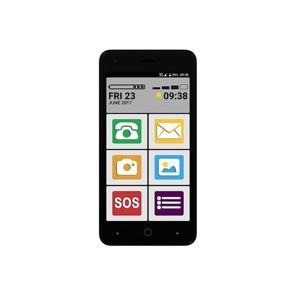 MAXCOM Smart MS553 FS Dual SIM Šedá