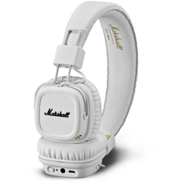 Marshall Major II Bluetooth bílá Bílá