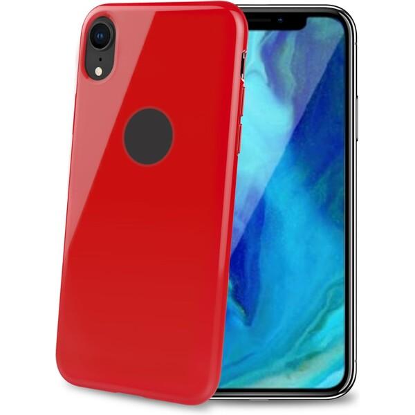CELLY Gelskin TPU pouzdro Apple iPhone XR červené