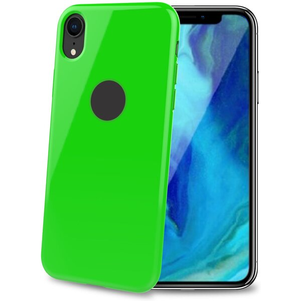 CELLY Gelskin TPU pouzdro Apple iPhone XR zelené