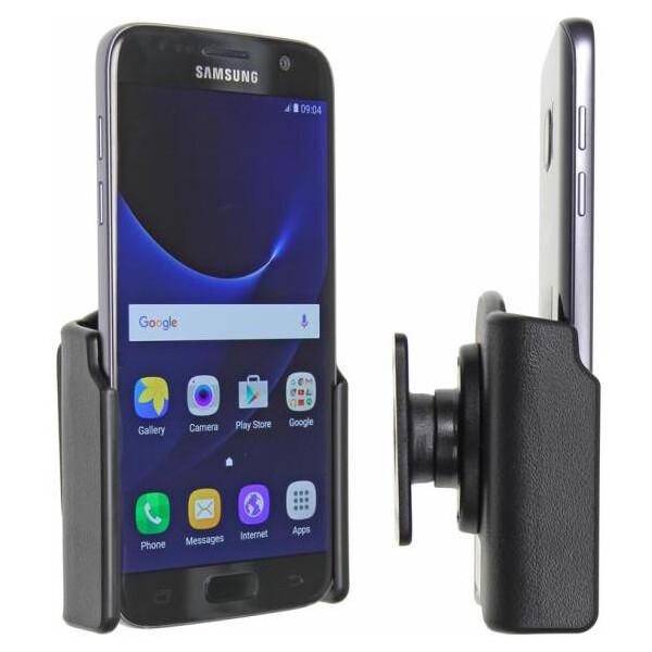 Brodit držák do auta na Samsung Galaxy S7 bez pouzdra, bez nabíjení 511863 Černá