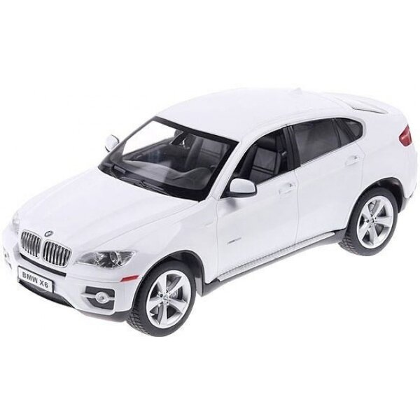 iCess BMW X6 bluetooth model auta 1:16 bílý