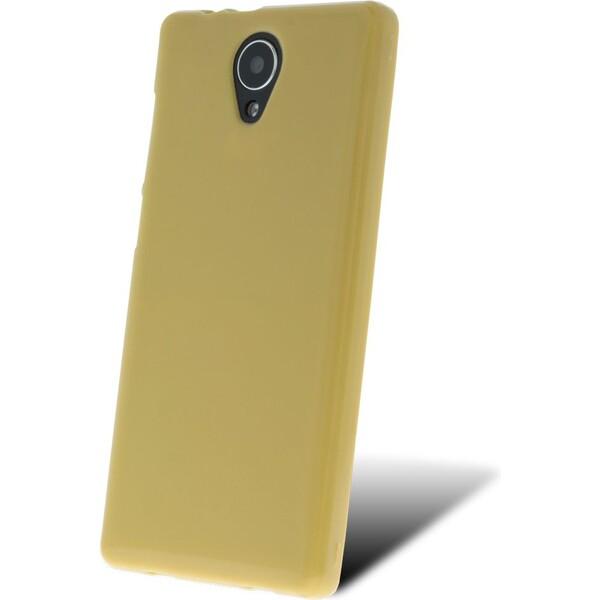 SILIKONOVÉ (TPU) POUZDRO ŽLUTÉ PRO myPhone FUN LTE TPUMYAFUNLTESIYE Žlutá