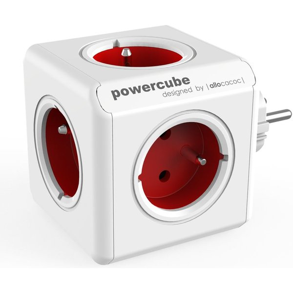 PowerCube Original zásuvka červená