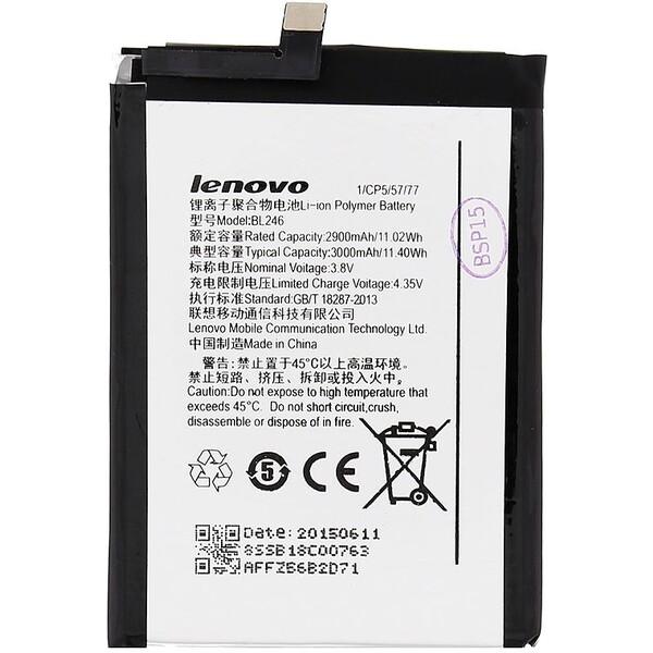 Baterie Lenovo BL246 Černá