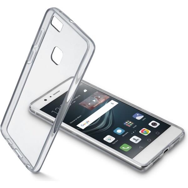Pouzdro CellularLine CLEAR DUO Huawei P9 Lite čiré Čirá