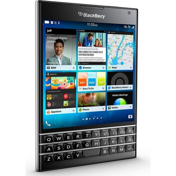 BlackBerry Passport QWERTY černý