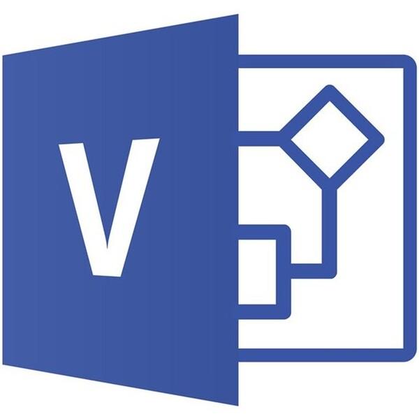 Microsoft Visio Standard 2019 - Licence - 1 PC - elektronická licence