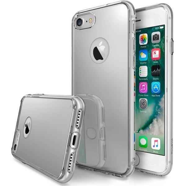 Ringke Mirror pouzdro Apple iPhone 7 stříbrné