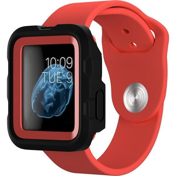 Griffin Survivor Tactical odolný kryt Apple Watch (42mm) červený