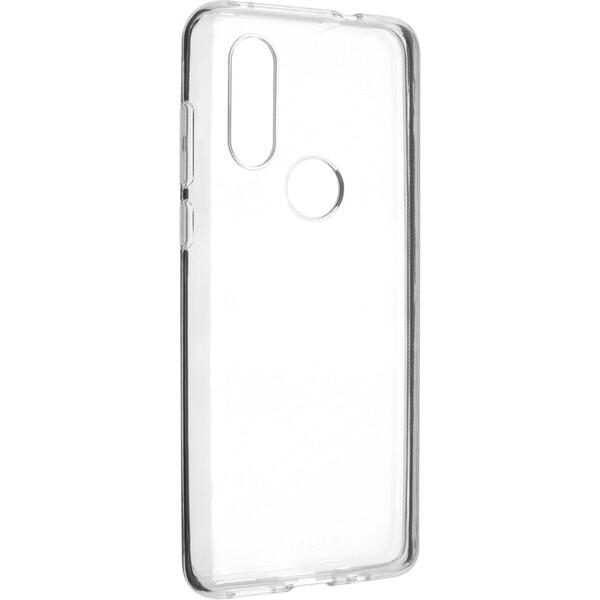 FIXED TPU pouzdro Motorola One Vision čiré
