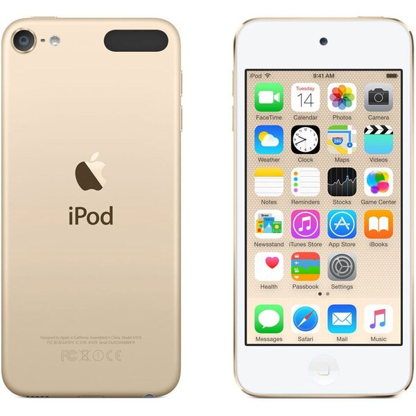 Apple iPod touch 128GB zlatý (2017)