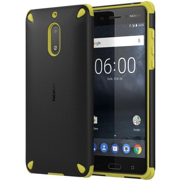 Nokia Rugged Impact CC-501 pouzdro Nokia 6 žluté