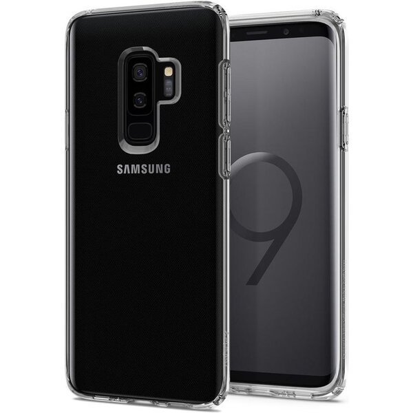 Pouzdro SPIGEN Liquid - Samsung Galaxy S9+ crystal čiré 593CS22913 Čirá