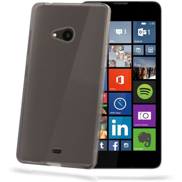 CELLY Gelskin pouzdro Microsoft Lumia 540 / 540 Dual SIM černé