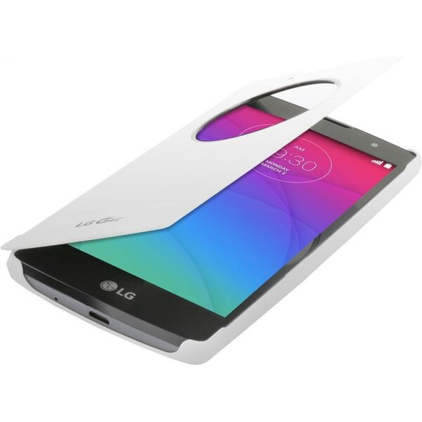 LG CCF-600 flip pouzdro QuickCircle LG G4c bílé