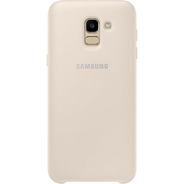 Samsung dvouvrstvý ochranný kryt Samsung Galaxy J6 EF-PJ600CFEGWW Zlatá