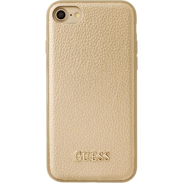 Pouzdro Guess IriDescent TPU iPhone 7 zlaté Zlatá