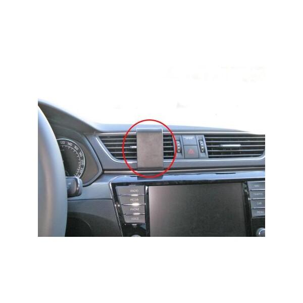 Brodit ProClip montážní konzole pro Škoda Superb 16-17, nevhodné pro L&K, na střed 855137 Černá