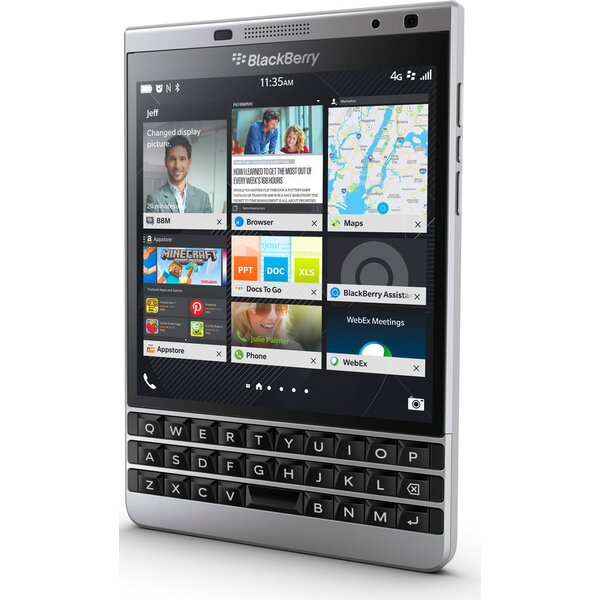BlackBerry Passport Stříbrná
