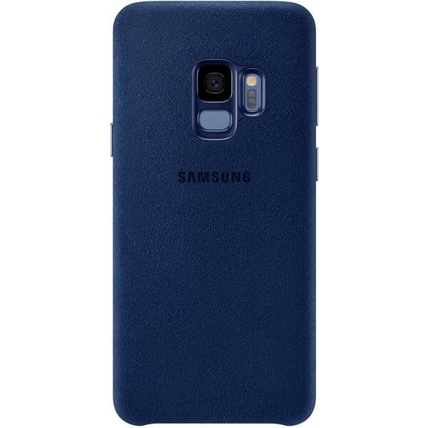 Samsung zadní kryt z kůže Alcantara Samsung Galaxy S9 modré EF-XG960ALEGWW Modrá
