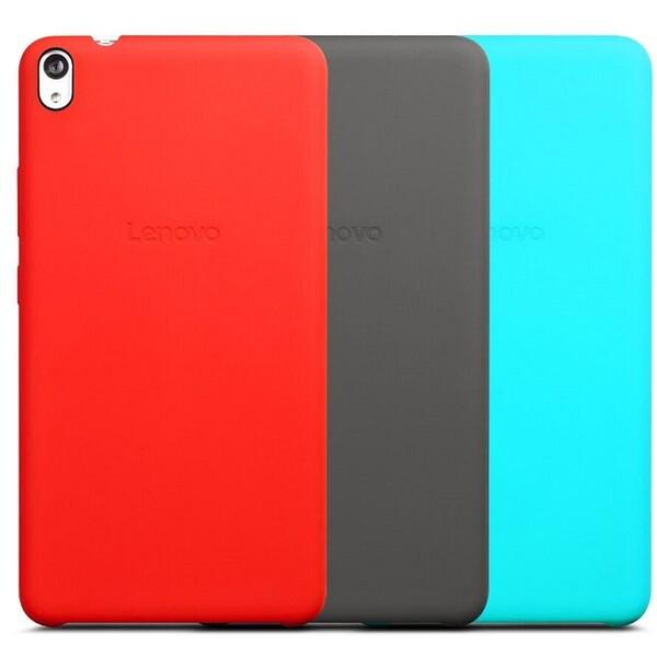 Lenovo PHAB back cover + fólie na display - červený