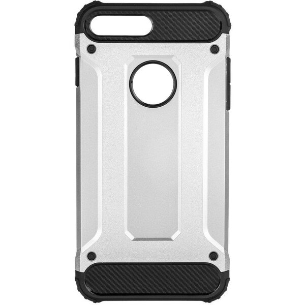Pouzdro Forcell Armor Apple iPhone 7 Plus stříbrné Stříbrná