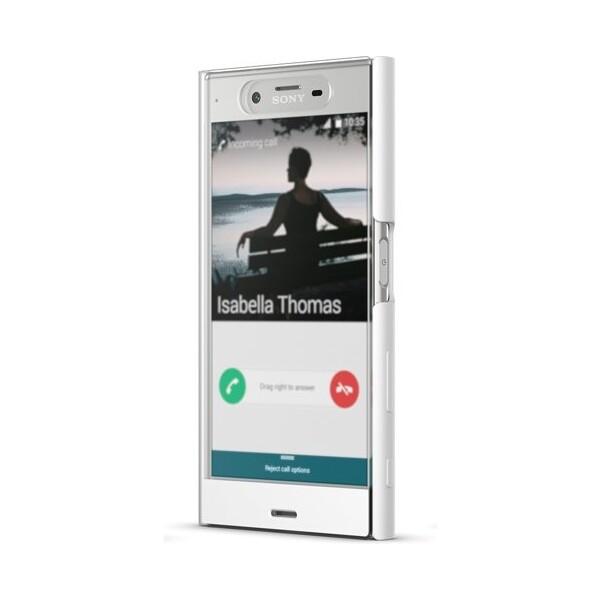 Sony SCTF10 Style Cover dotykové pouzdro Sony Xperia XZ bílé