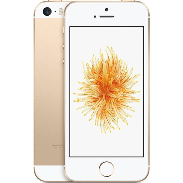 "Apple iPhone SE 16GB / 4"" Retina / 12MPx /MLXM2CS/A / Zlatá"