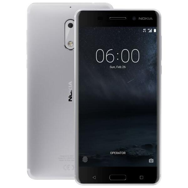 Nokia 6 Dual SIM Stříbrná