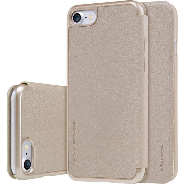 Pouzdro Nillkin Sparkle Folio iPhone 7 8 Zlatá 945072ca50b