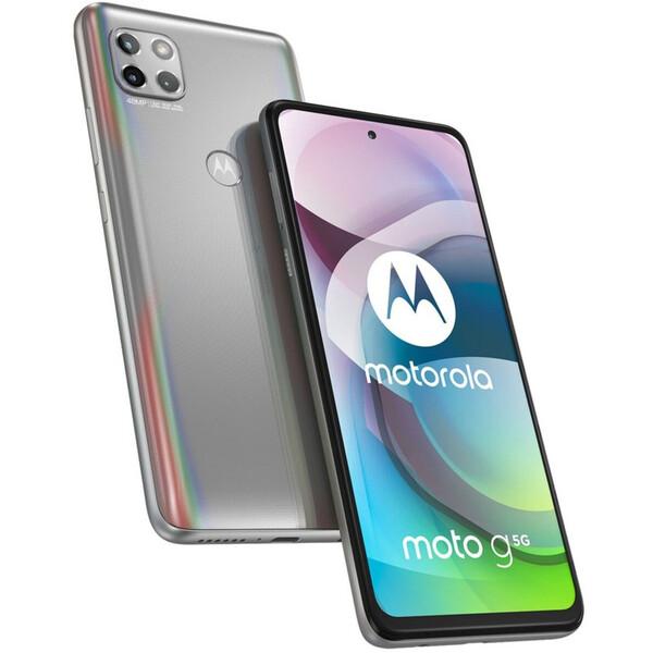Motorola Moto G 5G 6GB+128GB Frosted Silver