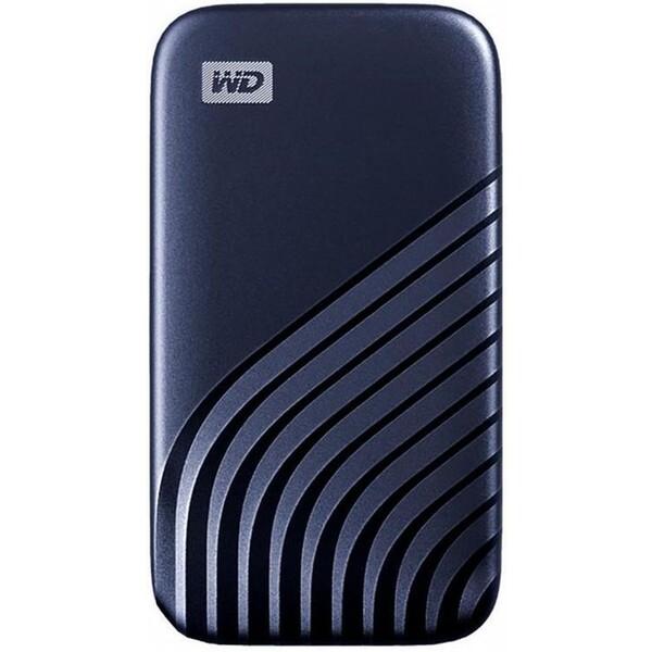 WD My Passport externí SSD 2TB modrý