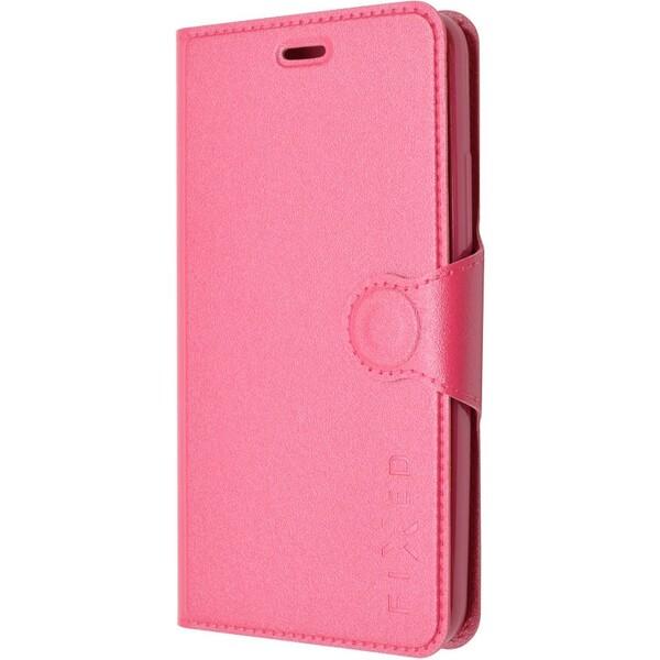 Pouzdro FIXED flip Lenovo A5000 růžové Růžová