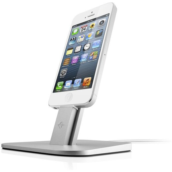 Twelve South HiRise kovový stojan Apple iPhone a iPad stříbrný