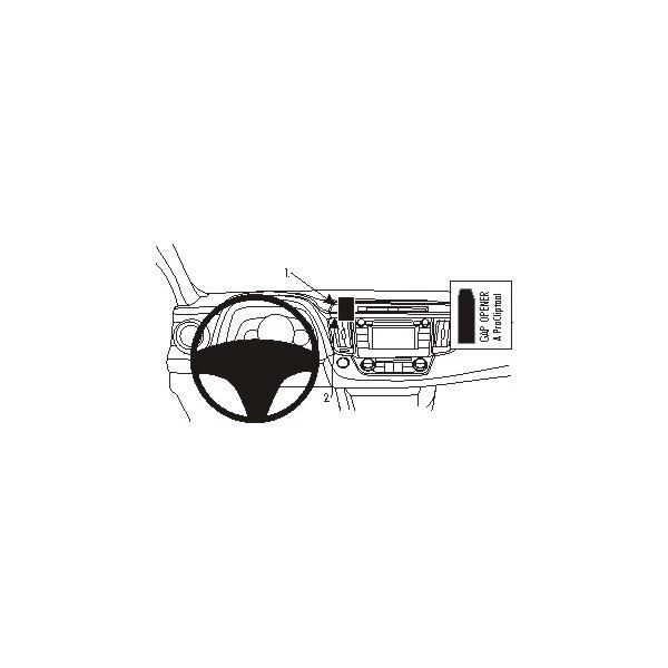 Brodit ProClip montážní konzole pro Toyot Rav 4 13-15, na střed 854893 Černá