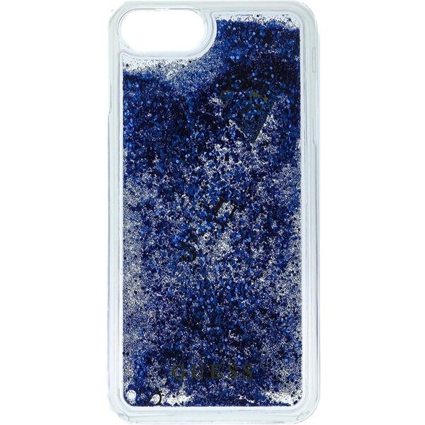 Pouzdro Guess Liquid Glitter Hard iPhone 6/6S/7 Plus Fialová