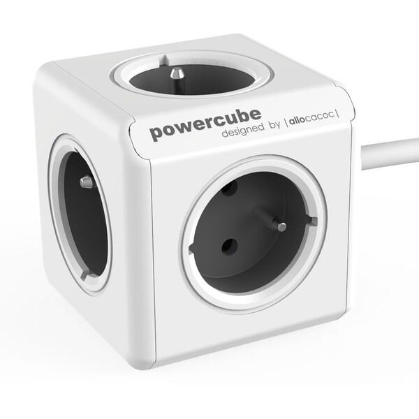 PowerCube Extended zásuvka šedá