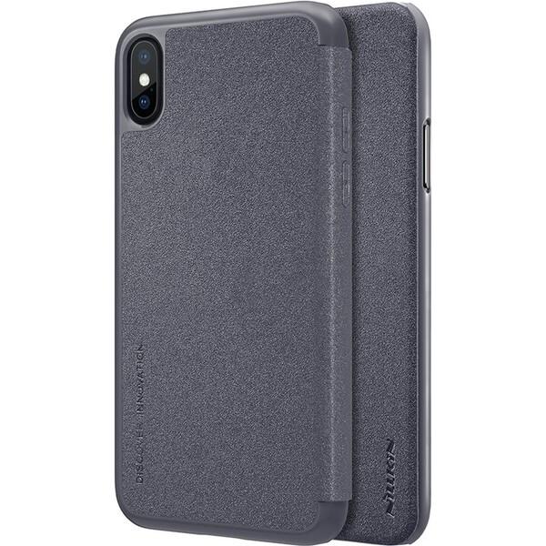 Nillkin Sparkle Folio pouzdro Apple iPhone X/XS černé