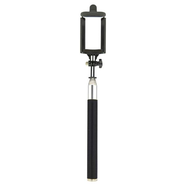 Swissten 32000300 Selfie tyč s bluetooth tlačítkem 97cm Černá